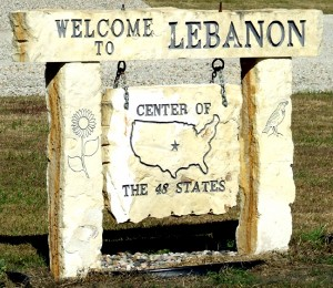 Lebanon center of the US